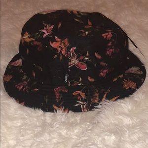 Floral Vans Bucket Hat